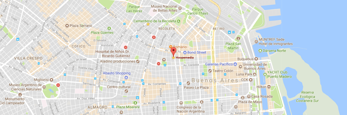 Hoopemedia en Google Maps